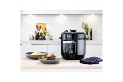 Tefal Home Chef 6L 1000W Smart Multicooker CY601D CY601D65 Electrical Pressure Cooker Rice Steam Simmer Slow Cook Fry